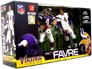 NFL 2-Pack: Vikings Brett Favre EXCLUSIVE