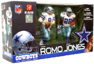 NFL 2-Pack: Cowboys - Tony Romo and Felix Jones Exclusive