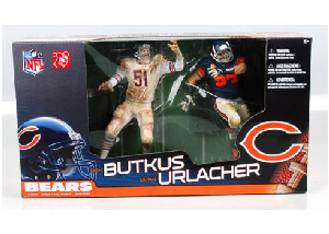 NFL 2-Pack Bears - Brian Urlacher and Dick Butkus