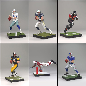 Mcfarlane Sports NFL Series 20 - Set of 6