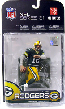NFL 21 - Aaron Rodgers Green Jersey Regular