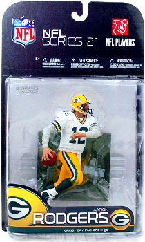 NFL 21 - Aaron Rodgers White Jersey Variant