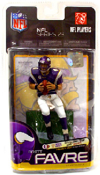 NFL Series 23 - Brett Favre - Vikings Purple Jersey Regular