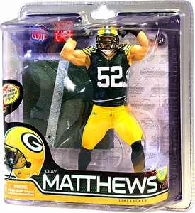 NFL Series 28 - Clay Matthews - Green Bay Packers