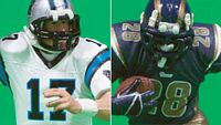 Jake Delhomme - Marshall Faulk