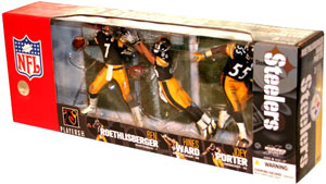 NFL 3-Pack: Pittsburg Steelers