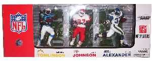 Elite Club Running Back 3-pack: LaDainian Tomlinson, Larry Johnson, and Shaun Alexander