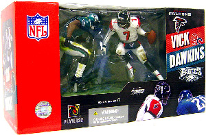 NFL 2-PACK: Michael Vick (Falcons) and Brian Dawkins (Eagles)