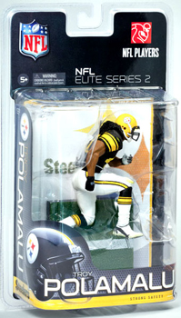 NFL Elite Series 2 - Troy Polamalu - Steelers