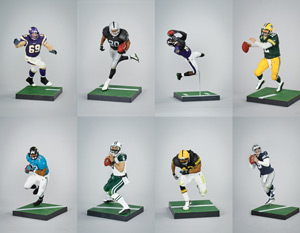 Mcfarlane Sports - NFL Elite Series 2 - Set of 8