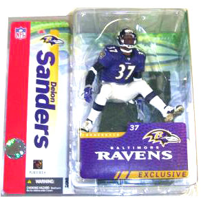 Deion Sanders Purple Jersey Baltimore Ravens Exclusive