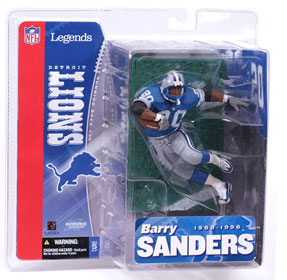 NFL Legends Series 1 - Barry Sanders - Detroit Lions