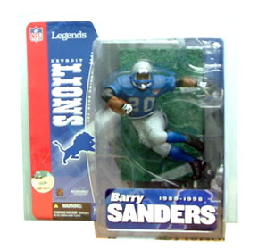 NFL Legends Series 1 - Barry Sanders Retro Variant