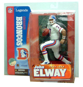 NFL Legends Series 1 - John Elway White Jersey Variant - Denver Broncos