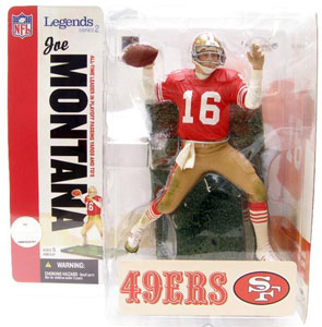 NFL Legends Series 2 - Joe Montana - 49ers