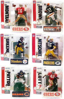 NFL Legends Series 2 Set of 6