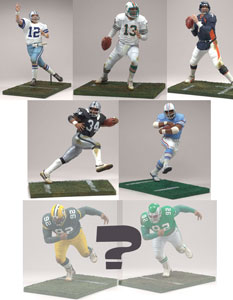 Mcfarlane NFL Legends Series 3 SET of 6 - RANDOM REGGIE