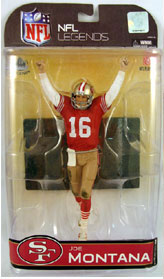 NFL Legends Series 4 - Joe Montana 2 - San Francisco 49ers