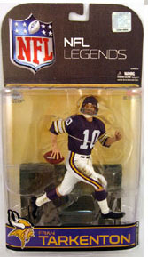 NFL Legends Series 4 - Fran Tarkenton - Minnesota Vikings