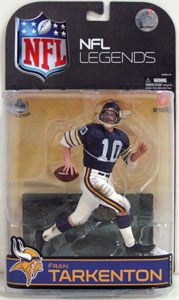NFL Legends Series 4 - Fran Tarkenton - White Sleeves Variant