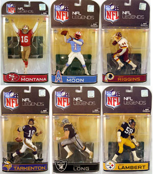 NFL Legends Series 4 Set of 6