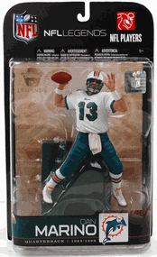 NFL Legends Series 5 - Dan Marino 2 - Dolphins - White Jersey Variant