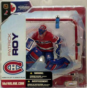 Patrick Roy Series 5 - Montreal Canadiens Red Jersey Variant