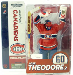 NHL Series 10 - Jose Theodore - Montreal Canadiens