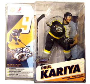 Paul Kariya 2 - Black Grey Jersey Variant