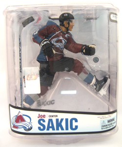 Joe Sakic 3 - Series 18 Burgandy Variant