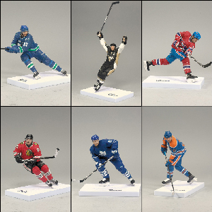 Mcfarlane NHL Series 25 - Set of 6[CANADA - Dustin Penner, Phil Kessel]