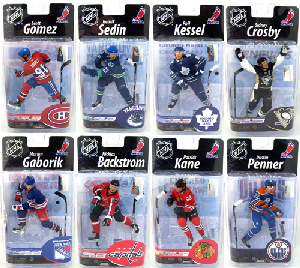 Mcfarlane NHL Series 25 - FULL Set of 8[CANADA AND USA PLAYERS]