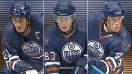 NHL 3-Pack: Edmonton Oilers - Jason Smith, Ales Hemsky, and Chris Pronger