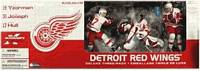 Detroit Red Wings 3 Pack Yzerman, Joseph, Hull - White Jersey Regular