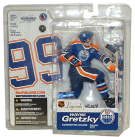 Wayne Gretzky 4 Legends 2 - Oilers Blue Jersey