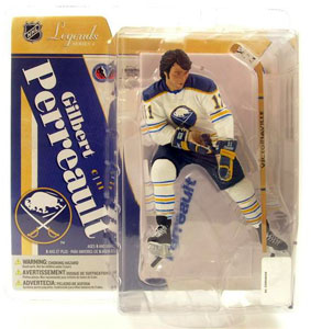 NHL Legends 4 - Gilbert Perreault White Jersey Variant