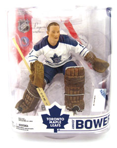 Johnny Bower - White Jersey Variant