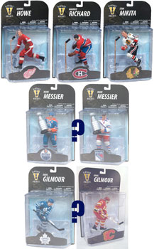Mcfarlane Sports - NHL Legends 7 Set of 5[Random Messier,Gilmour]