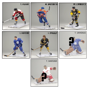 McFarlane Sports NHL Legends Series 8 - Set of 6[RANDOM SAWCHUK]