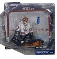 Tommy Salo Edmonton Oilers - White Jersey Variant