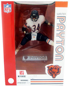 NFL Legends 12-Inch Walter Payton White Jersey - Chicago Bear