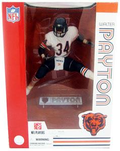 NFL Legends 12-Inch Walter Payton White Jersey - Chicago Bear