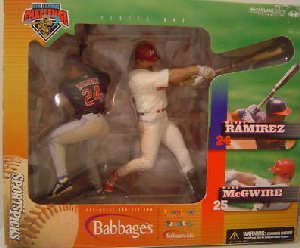 BIG LEAGUE CHALLENGE: Manny Ramirez and Mark McGwire