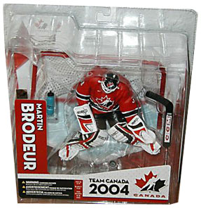 Martin Brodeur Team Canada Red Jersey Variant