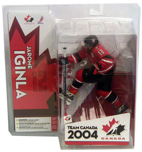 Jarome Iginla Red Jersey Variant Team Canada