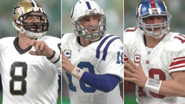NFL 3-Pack: MANNING QUARTERBACK LEGACY - Peyton, Eli, Archie