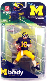 TOM BRADY -- The University of Michigan Wolverines