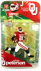 Adrian Peterson - University of Oklahoma Sooners - Red Jersey Regular