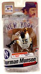 MLB Cooperstown 7 - Thurman Munson - Yankees - White Jersey Regular