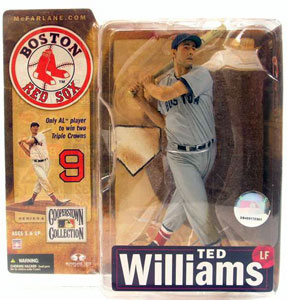 Ted Williams Grey Jersey Variant